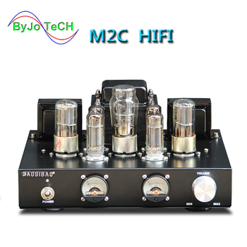 ByJoTeCH M2C 6p1 Class A Single-ended parallel Vacuum Tube Amplifier Rectifier Hifi Stereo Audio AMP Hand-built shed welding finished el34 vacuum tube amplifier stereo hifi single ended class a power amp 5z4p rectifier 6n2 tube amplifier