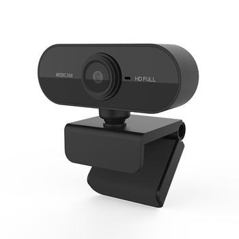 Webcam Full HD 1080P Web Cam Auto Focus Mini Web Camera with Microphone USB Cameras for Mac Lenovo Skype Youtube Computer Laptop 1