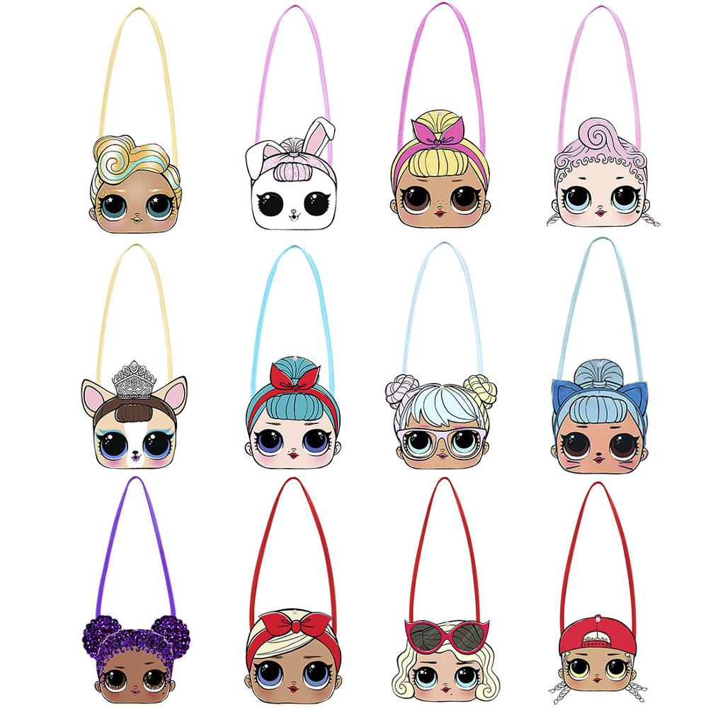 Wallet Dolls Messenger-Bag Crossbody-Bags Travel-Bags SURPRISE Small Mini Girl Cartoon