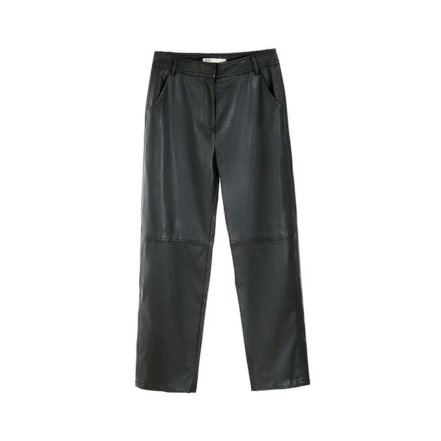 Women's Leather Pants 3