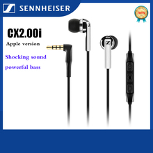 Earphones Sennheiser Headset with Mic for Ios Device Line-Control Wired Deep-Bass Stereo