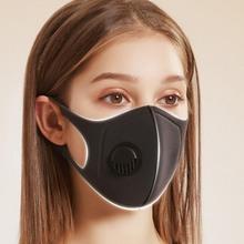 Maska wyprzedaż promocja 2020 Outdoor 2-Lay maska do nurkowania maska przeciwpyłowa wodoodporna maska gąbkowa z oddychającą maska do pływania tanie tanio Anti-dust Face Mask