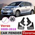 Брызговик для Toyota Verso AR20 2018 ~ 2009, брызговик, брызговики, брызговики, аксессуары для 2016, 2015, 2014, 2013, 2012, 2011, 2010