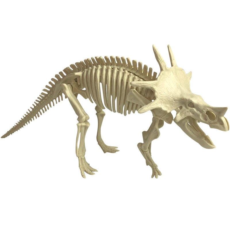 arqueologica montagem diy tiranossauro modelo escavacao brinquedo para criancas 02