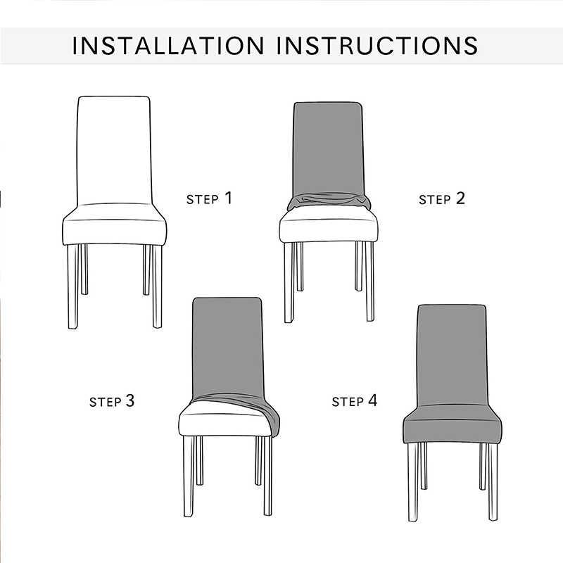 Новый бархатный, жаккардовый обеденный чехол для кресла спандекс эластичный чехол для кресла чехол для стульев стрейч Рождественский стул на свадьбу