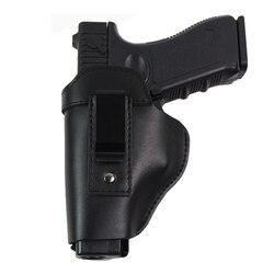 Étui en cuir pour pistolet Glock 17 18 19 22 26 Beretta M92 Sig Sauer P226 Cz 75 shadow Airsoft pistolets étui dissimulé