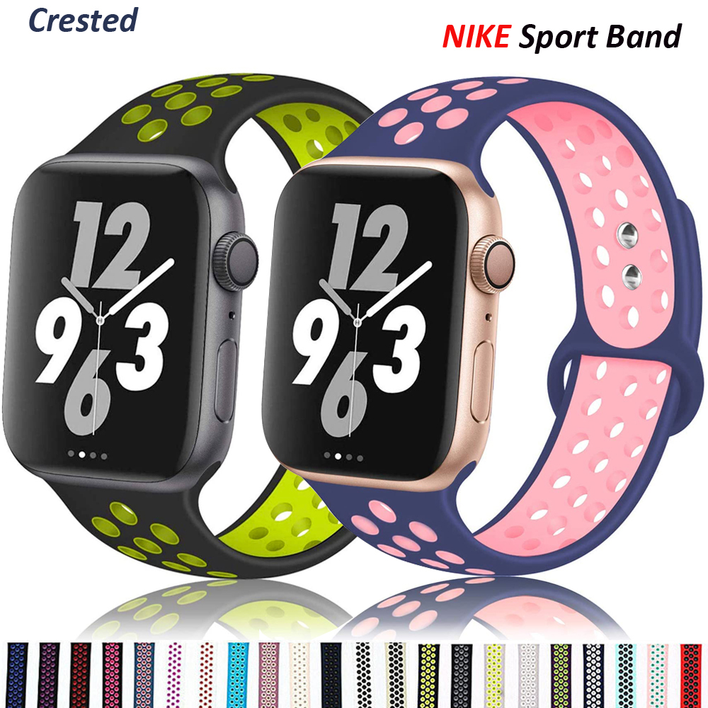 Silicone Strap for Apple watch band 40mm 44mm Accessories belt Sport band bracelet for iWatch series 6 5 4 3 SE 38mm 42mm(China)