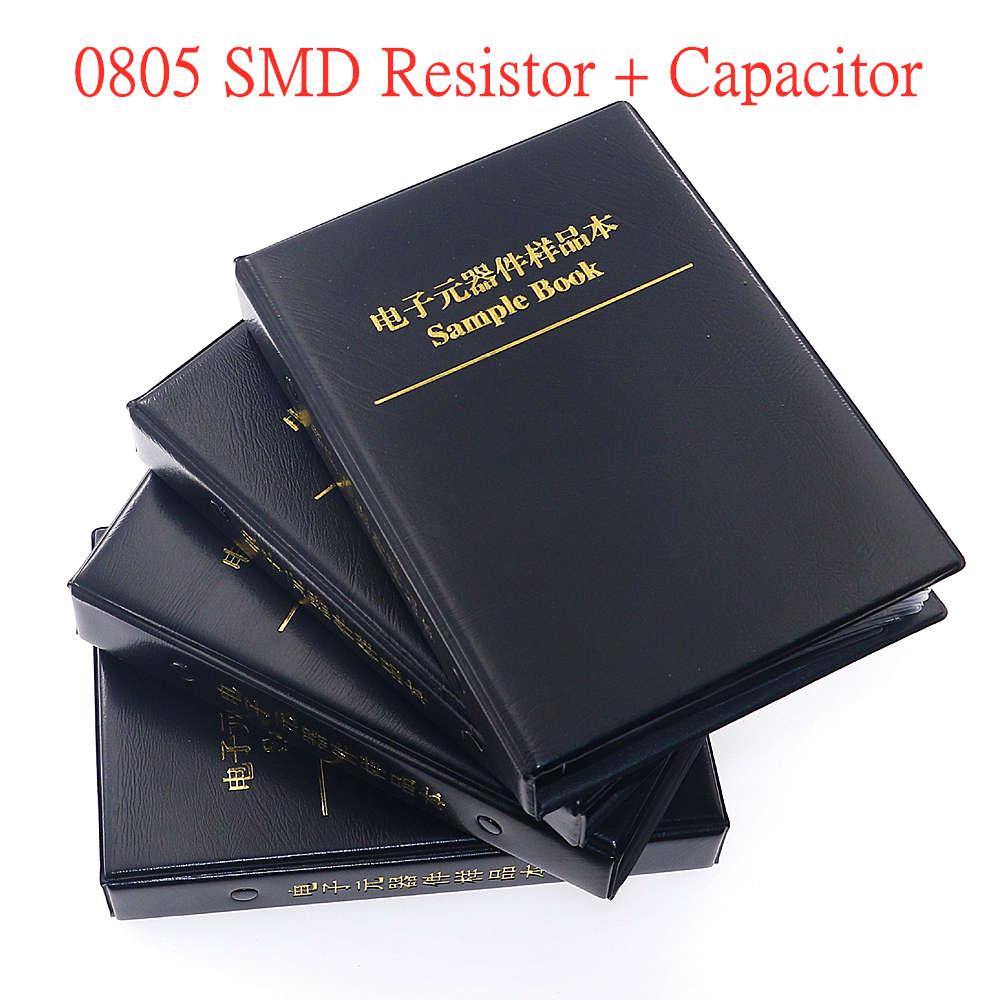 0805 SMD (0Ω -2mΩ) 63 значения чиповый резистор + (15pf-1uf) 17 значение SMT конденсатор