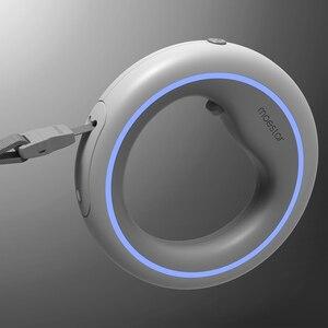 Image 2 - Originele Moestar Intrekbare Huisdier Aangelijnd Hond Trekkabel Flexibele Ring Vorm 2.6M Met Oplaadbare Led Nachtlampje