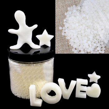 20g/50g Polymorph Mouldable Plastic Pellets DIY Thermoplastic PCL Plasticmake Handmade Supplies DIY Modeling Clay image