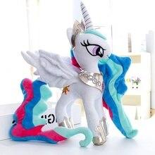 Плюшевые куклы, чучела животных Лошадь солнце принцесса Единорог детские игрушки отличный подарок