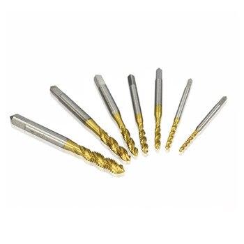Sekrup Baja Titanium Keran Dilapisi Benang Metral Spiral M2 / M2.5 / M3 / M3.5 / M4 / M5 / M6 2