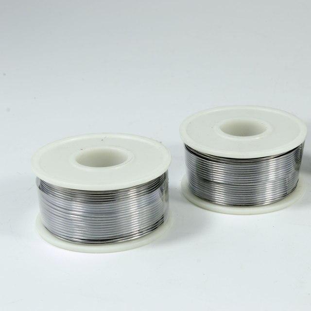 250g 500g ołów drut lutowniczy roll flux 2.2% cienki drut do lutowania dla elementów elektronicznych temperatura topnienia 361F 183℃