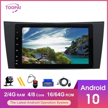 TOOPAI Android 10 For Mercedes Benz E W211 CLS W219 G-Class W463 W209 Auto Radio Stereo GPS Navigation Multimedia Player image