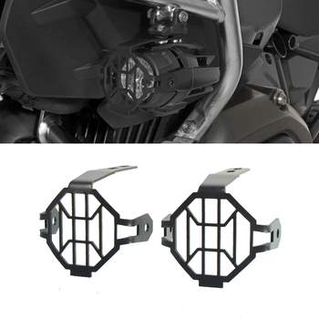 Motorcycle Accessories Aliminum LED foglight lamp cover Protector Guard Covers for BMW R1200GS F800GS Adventure 2012 UP Parts image
