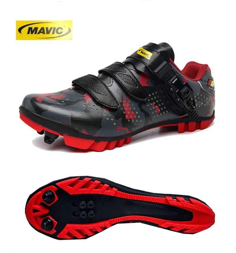Luminous MTB Cycling Shoes Men Mountain Bike Shoes Racing Road Bicycle Sneakers