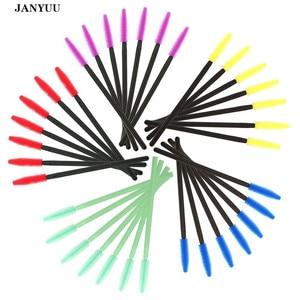Image 1 - 1000 יח\חבילה חד פעמי סיליקון ג ל ריס מברשת מסרק מסקרה שרביטים עין ריסים הארכת כלי מקצועי יופי איפור כלים