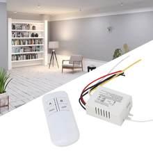 YAM-interruptor remoto inalámbrico Digital, 2 vías de encendido/apagado, 802 V, receptor de luz de pared, transmisor, interruptor de Control remoto