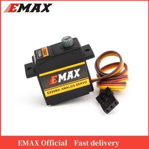 Image 1 - Официальный сервопривод EMAX ES09MA Servo (двойной подшипник) Удельный сервопривод Swash для 450 вертолетов
