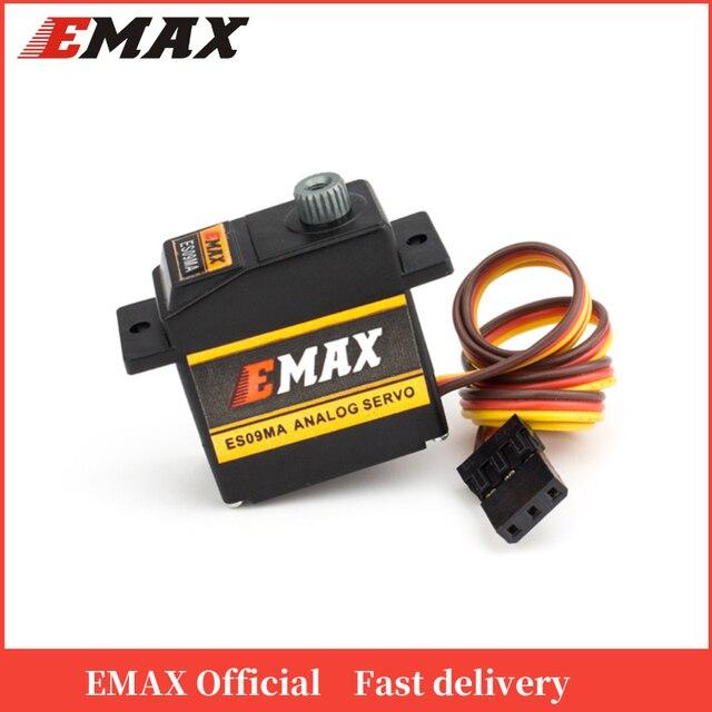 Официальный сервопривод EMAX ES09MA Servo (двойной подшипник) Удельный сервопривод Swash для 450 вертолетов