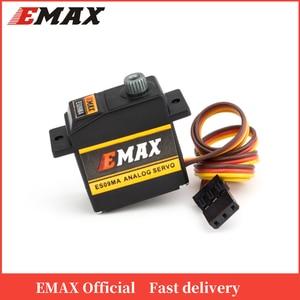 Image 1 - Offizielle EMAX Servo EMAX ES09MA Servo (Dual Lager) Spezifische Swash Servo Für 450 Hubschrauber