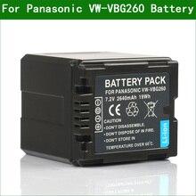 Lanfulang VW VBG260 VBG260 Digital Camera Battery for Panasonic HDC HS700 TM200 TM300 TM700 TMT750 SDR H80 SDR H90 HDC MDH1