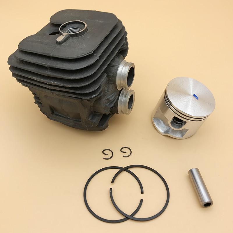 HUNDURE 50mm Cylinder Piston Kit For Stihl TS410 TS420 TS 410 TS 420 Gasoline Cut-Off Saw Spare Parts 4238 020 1202