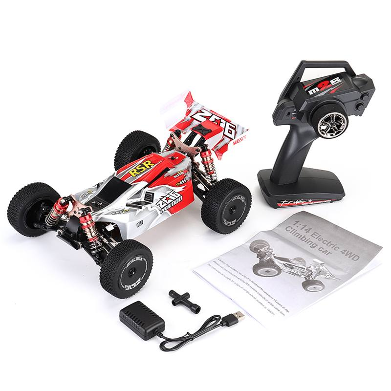 Wltoys 144001 1:14 RC Car 2.4G 4WD Radio Control Car High Speed 60km/h Racing Crawler RC Car Vehicle Models Toys For Children