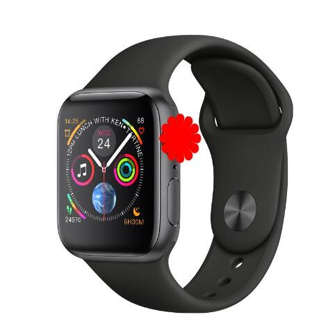 Heart rate monitor ECG Smart Watch <font><b>1</b></font>:<font><b>1</b></font> 44mm Series 4 Bluetooth SmartWatch <font><b>IWO</b></font> 8 For iPhone XS 5 6 7 8 Android phone image