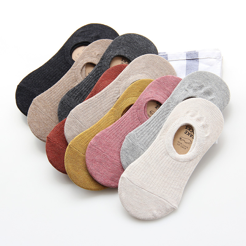 Women's Sock Summer Cotton Cute Short Socks High Quality Spring  Solid Color Female Socks Hosiery Casual Ladies Sock