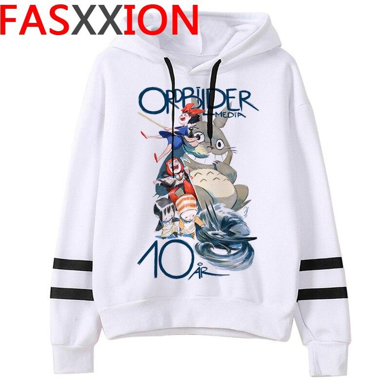 Totoro Studio Ghibli hoodies women streetwear grunge femme hoody sweatshirts hip hop streetwear 25