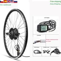 350W/500W Elektrische Motor Rad 26 zoll elektrische fahrrad ebike Conversion Kit 36V/48v elektrische Fahrrad/bike Kit MTB Hub Motor KT LCD E-Bike Motor Sport und Unterhaltung -