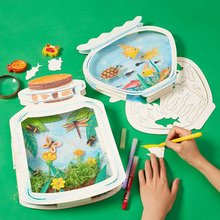 Children DIY The World In The Bottle Handmade Craft Toys Handmade Materials Package Drawing Educational Toys Kids Gift DIY Toys