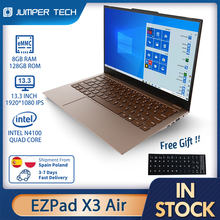Notebook Jumper EZBOOK X3 Air Intel N4100 13.3 inch 1920*1080 8GB DDR4 128GB SSD Windows 10 Tablet Laptops Computer PC Portable