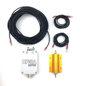 Image 1 - Antena de onda corta HF20A, 1,5 30Mhz, banda completa, sin persianas, antena de onda corta, estación de radio para exteriores, accesorios para walkie talkie