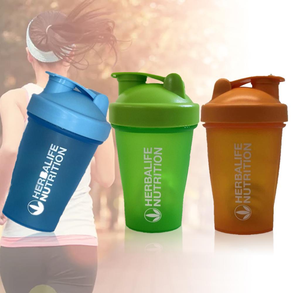 Yaratıcı nokta yüksek kaliteli Protein Shaker Shake Milkshake karıştırma kupası açık spor spor sallamak fincan spor şişe BPA ücretsiz