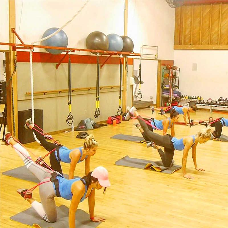 Esercizio di Fitness Booty Butt Fascia Regolabile Glute Allenamento Muscolo della Gamba Elastici a resistenza Crossfit Forza di Sport di Formazione