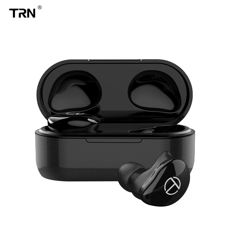 <font><b>TRN</b></font> <font><b>T200</b></font> <font><b>TWS</b></font> Hybrid-HiFi Drivers bluetooth Earphone Voice Control Smart Touch Waterproof Sport Charging Box for Xiaomi Huawei image