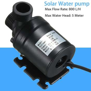 DC 24V Water Circulation Pump For Solar Water Brushless Motor 800L/H 5M Brushless Motor Water Circulation Water Pump solar water pump dc12v 24v brushless silent high temperature solar electric gas water heater circulating booster pump