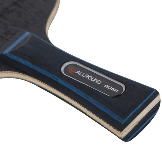 Table Tennis Racket Pimples-in Rubber 7 Baseboard Layers Wooden Bottom Ping-pong Bats Racquet Sports Accessories 6