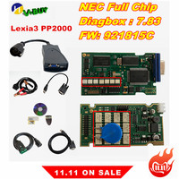 Lexia 3 PP2000 Full Chip 921815C Lexia3 For Citr oen Peug eot OEM Diagnostic Tool Diagbox 7.82 Lexia 3 PSA XS Evolution