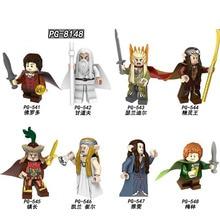 PG8148 Single Sale Thranduil Elrond Galadriel Merry Arwen Gandalf The Lord of the Rings Building Blocks Figures Children Toys