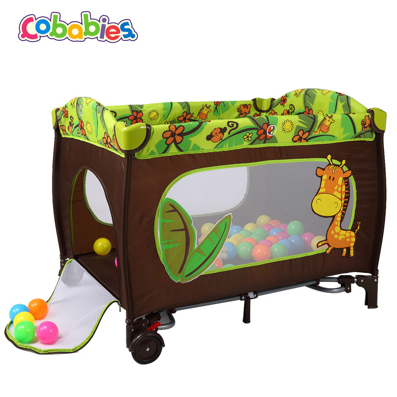6 In 1 Baby Bed  Twins Soft Bed Play Game Pad Baby Gift Baby Sleeping Chair Seat Sofa Baby Crib Baby Seat Play Toy Fence