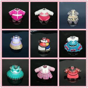 Оригинальная одежда для девочек, 1 шт., аксессуары для платьев, 8 см, обучающие игрушки для девочек