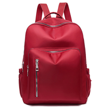 цены Waterproof Ladies Backpack Oxford Cloth School Bags For Teenage Girls Anti Theft Backpack Mother Bag Street Travel Work Fashion