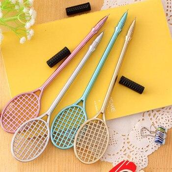 Rotulador para estudiantes, 1 Uds. Kawaii, marcador de raqueta, rotuladores para Pastel, rotuladores fluorescentes para acuarela