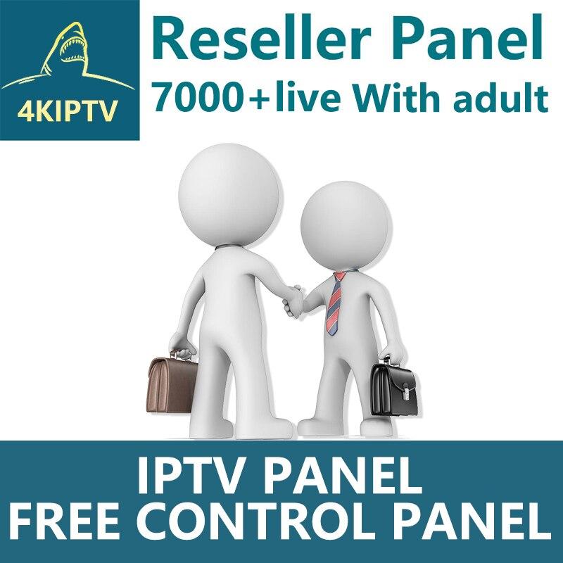 4KIPTV реселлер панель Netherland IPTV французский IPTV Арабский Английский Поддержка Android m3u enigma2 7000 live + VOD Iptv взрослый