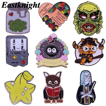 K2089 Cartoon Anime Enamel Pins and Brooches Lapel Pin Backpack Bags Badge Collar Jewelry Clothes Decoration Gifts 1 pcs sp044 viking rune hard enamel pins and brooches women men lapel pin backpack bags cartoon anime badges gifts punk jewelry