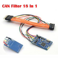 MB CAN Filter 18 In 1 Odometer Adjustment PCB for Benz Vehicle Scanner Universal CAN Filter Diagram for BMW X5 etc