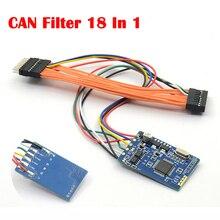 MB CAN filtre 18 en 1, réglage de lodomètre PCB pour Benz Scanner de véhicule universel CAN diagramme de filtre pour BMW X5 etc